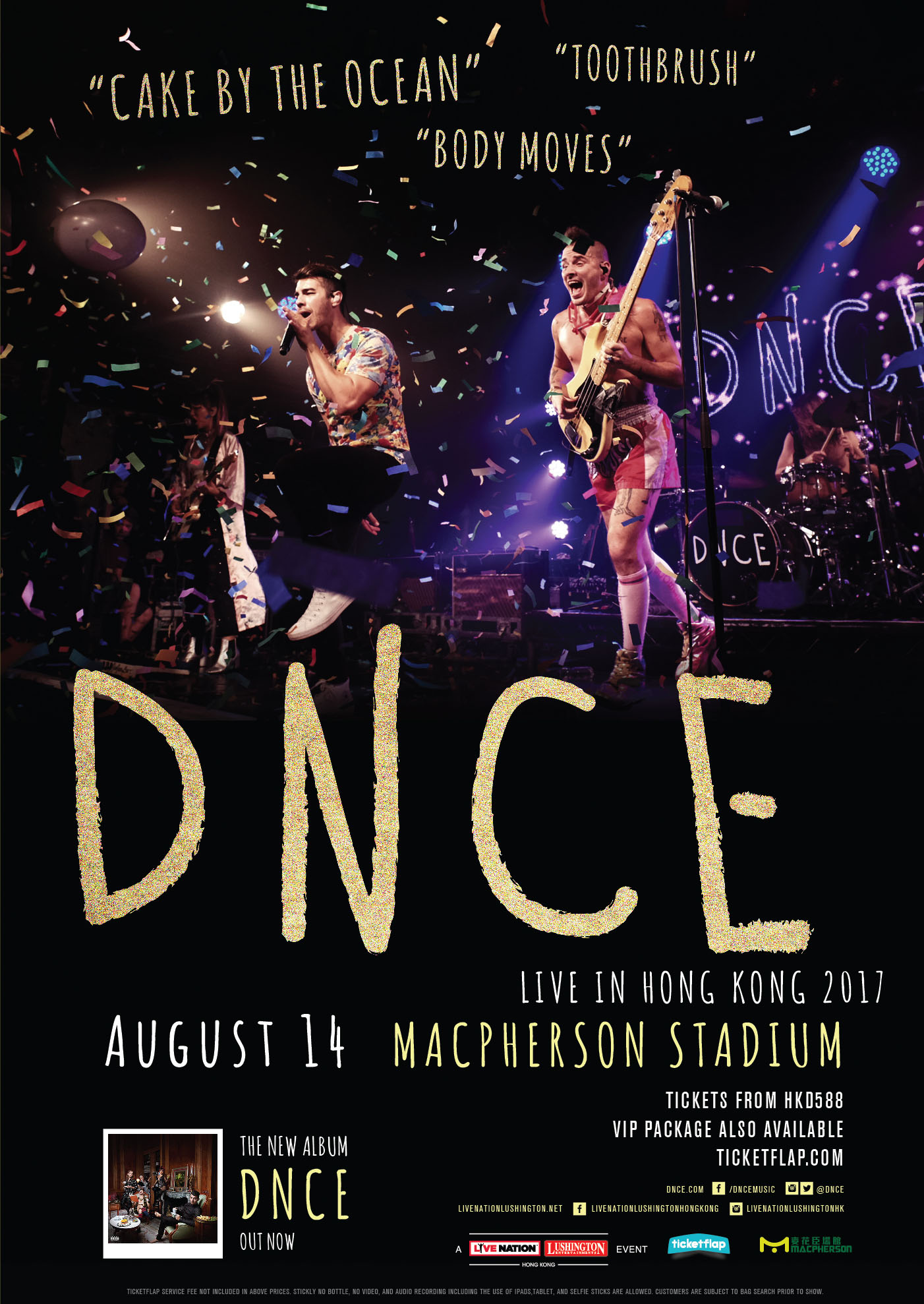 Dnce Tickets Aug 14 2017 Ticketflap