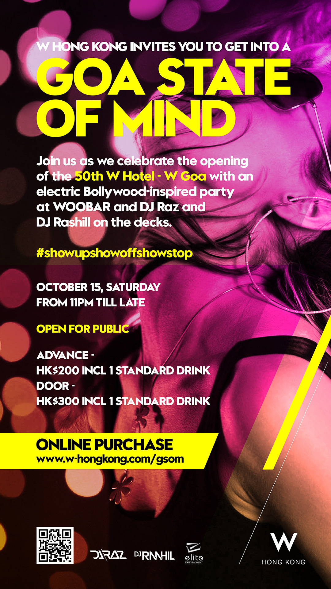 GOA STATE OF MIND BOLLYWOOD PARTY Tickets, Oct 15, 2016 | Ticketflap
