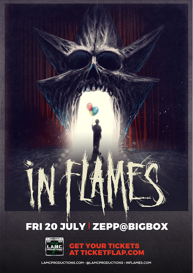 in flames live in singapore tickets jul 20 2018